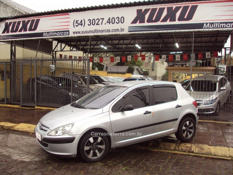 307 1.6 presence pack 16v gasolina 4p manual 2004 caxias do sul