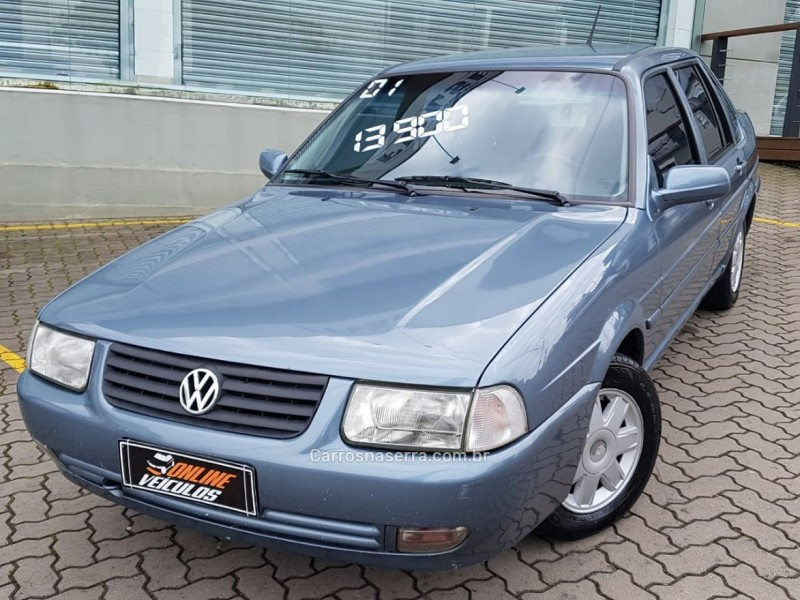 santana 2.0 mi 8v gasolina 4p manual 2001 caxias do sul