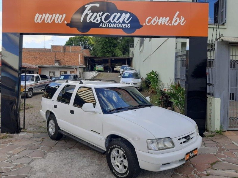 blazer 4.3 sfi dlx 4x2 v6 12v gasolina 4p manual 1998 caxias do sul