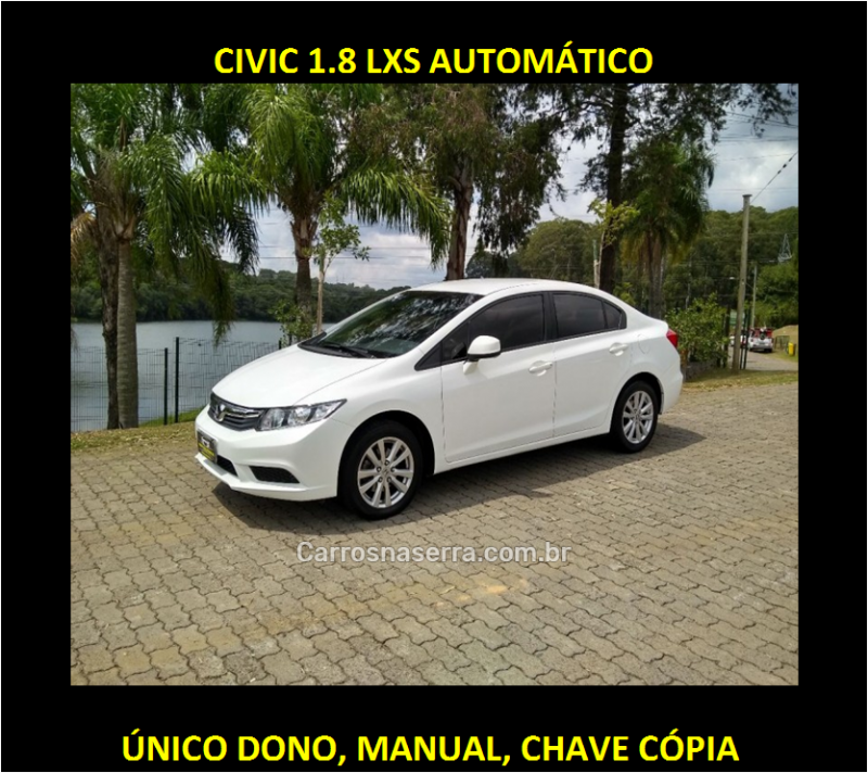 civic 1.8 lxs 16v flex 4p automatico 2014 caxias do sul