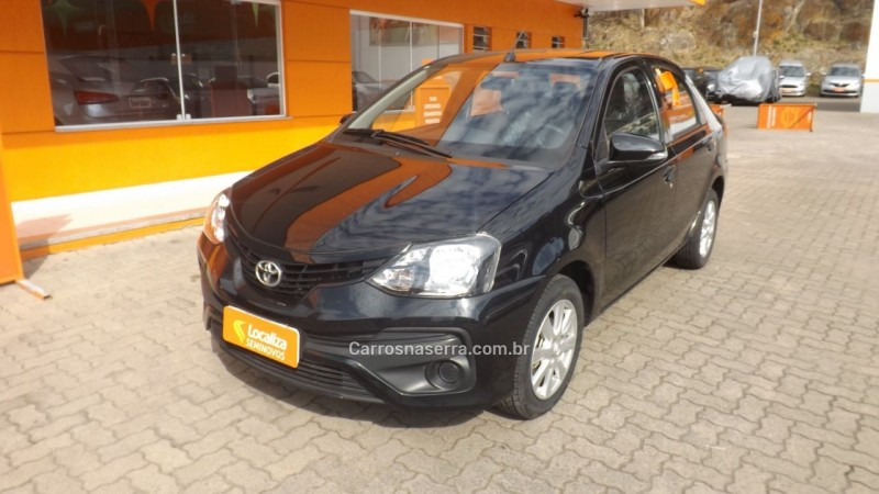 etios 1.5 x sedan 16v flex 4p automatico 2019 caxias do sul