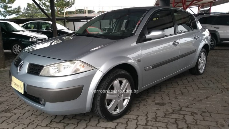 megane 2.0 dynamique sedan 16v gasolina 4p manual 2007 caxias do sul