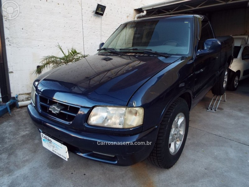 s10 2.5 dlx 4x2 cs 8v turbo diesel 2p manual 1996 caxias do sul
