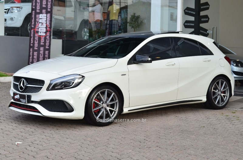 a 250 2.0 sport turbo gasolina 4p automatizado 2017 caxias do sul