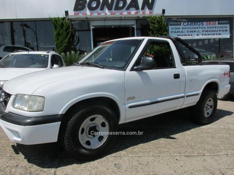 s10 2.5 4x4 cs 8v turbo diesel 2p manual 2000 farroupilha