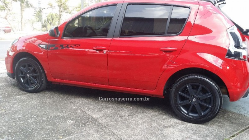 SANDERO 1.6 GT LINE LIMITED FLEX 4P MANUAL - 2014 - CAXIAS DO SUL