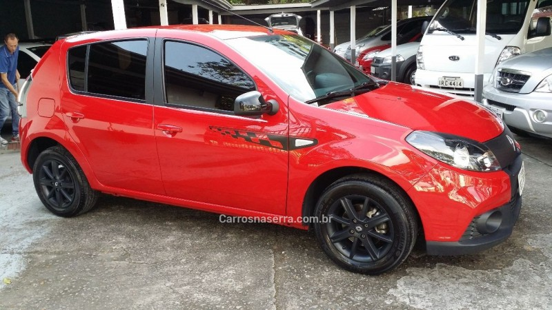 sandero 1.6 gt line limited flex 4p manual 2014 caxias do sul
