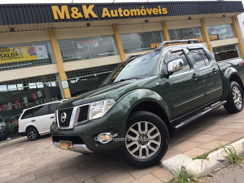 frontier 2.5 sl 4x4 cd turbo eletronic diesel 4p automatico 2014 caxias do sul