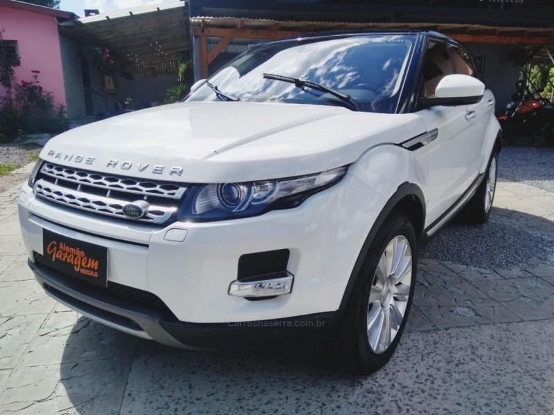 range rover evoque 2.2 sda prestige 4x4 16v diesel 4p automatico 2015 gramado