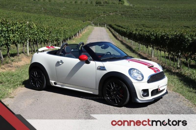 cooper 1.6 john cooper works cabrio 16v gasolina 2p automatico 2013 bento goncalves