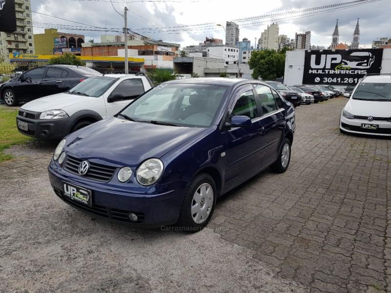 polo sedan 1.6 8v gasolina 4p manual 2003 caxias do sul