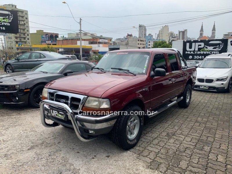 ranger 2.5 xl 4x4 cd 8v turbo intercooler diesel 4p manual 1999 caxias do sul