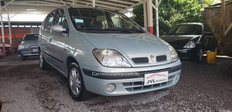 scenic 1.6 rxe 16v gasolina 4p manual 2003 caxias do sul
