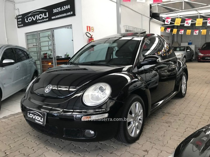 new beetle 2.0 mi 8v gasolina 2p automatico 2009 caxias do sul