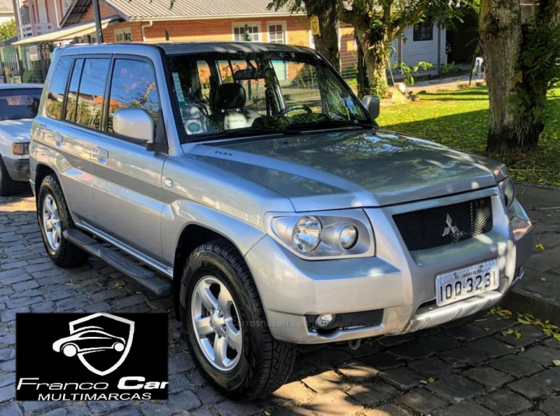 pajero tr4 2.0 4x4 16v flex 4p manual 2008 caxias do sul