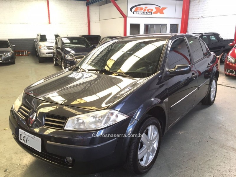 megane 1.6 expression 16v flex 4p manual 2008 caxias do sul