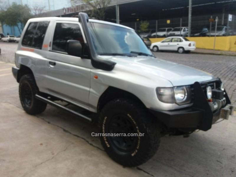 pajero 3.0 gls b 4x4 v6 24v gasolina 2p automatico 1998 caxias do sul