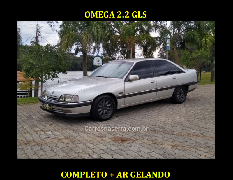 omega 2.2 mpfi gls 8v gasolina 4p manual 1996 caxias do sul