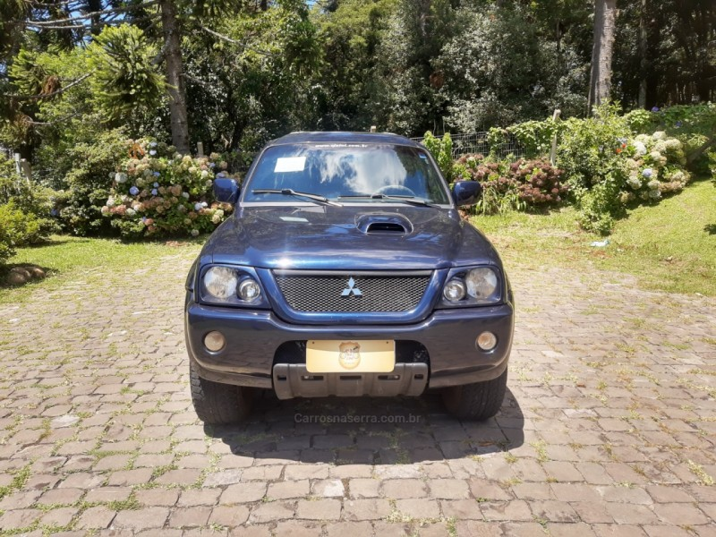 l200 2.5 sport hpe 4x4 cd 8v turbo intercooler diesel 4p manual 2006 canela