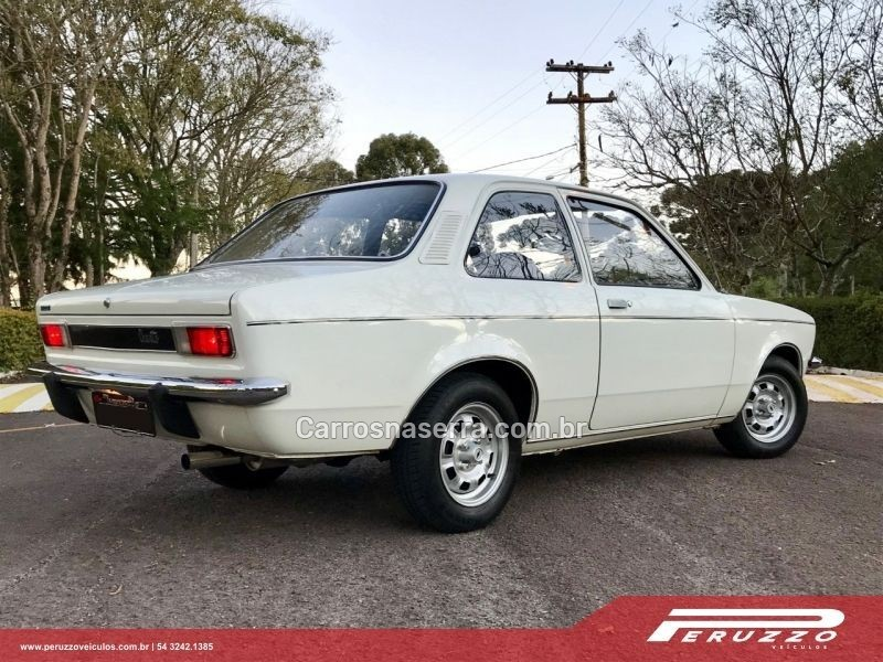 CHEVETTE 1.4 SL 8V GASOLINA 2P MANUAL - 1977 - NOVA PRATA