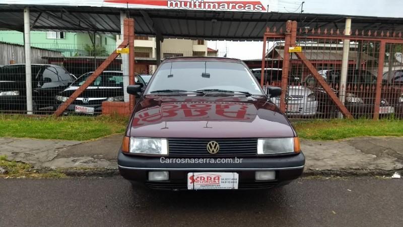 santana 1.8 gls 8v gasolina 2p manual 1992 caxias do sul