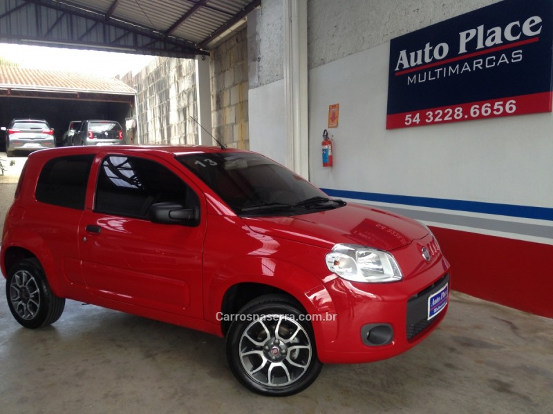 uno 1.0 evo vivace 8v flex 2p manual 2013 caxias do sul