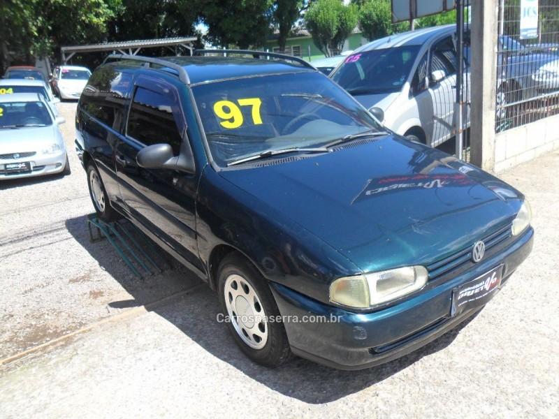 parati 1.6 mi cl 8v gasolina 2p manual 1997 caxias do sul