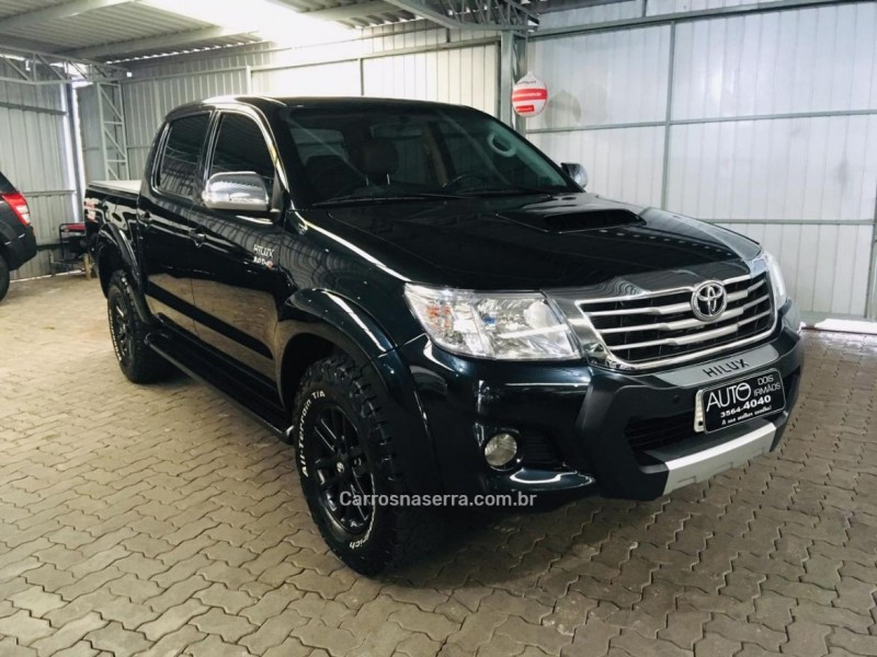 hilux 3.0 srv 4x4 cd 16v turbo intercooler diesel 4p automatico 2013 dois irmaos