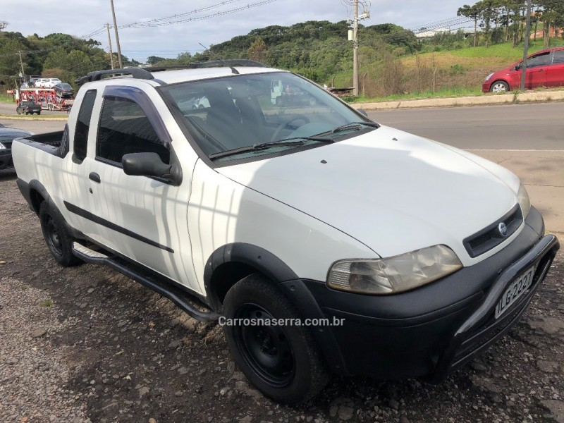 strada 1.3 mpi fire ce 8v gasolina 2p manual 2003 caxias do sul