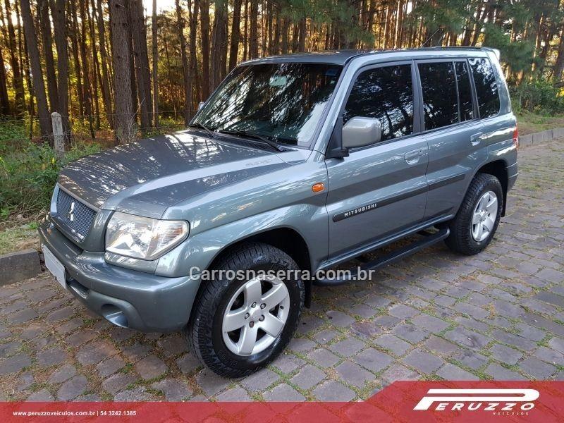 pajero tr4 2.0 4x4 16v 131cv gasolina 4p automatico 2003 nova prata
