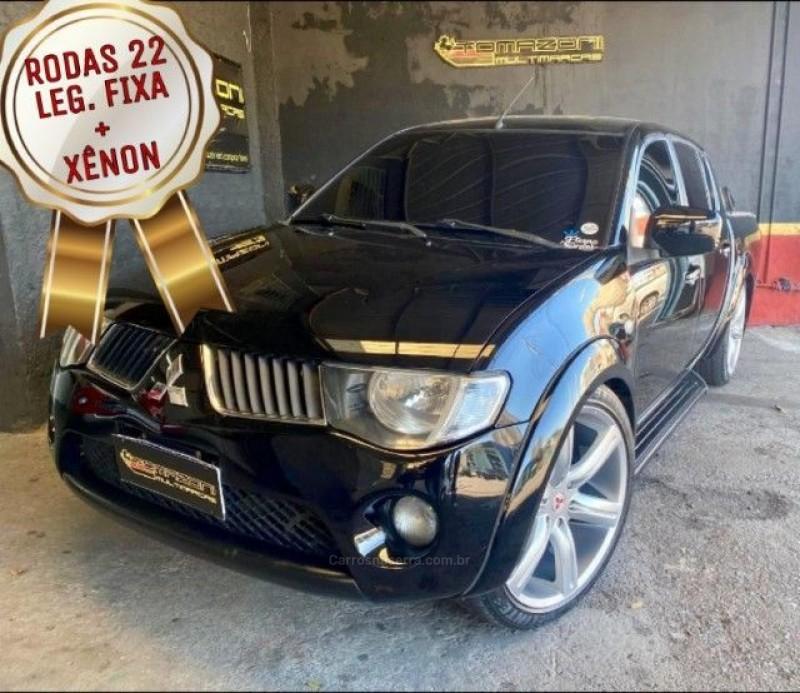 l200 triton 3.2 hpe 4x4 cd 16v turbo intercooler diesel 4p automatico 2008 caxias do sul
