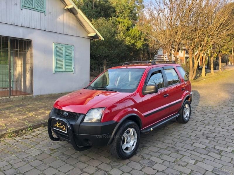 ecosport 1.6 xl 8v gasolina 4p manual 2004 canela
