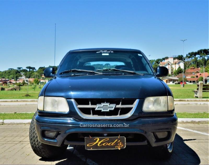 blazer 4.3 sfi dlx executive 4x4 v6 12v gasolina 4p automatico 2000 canela