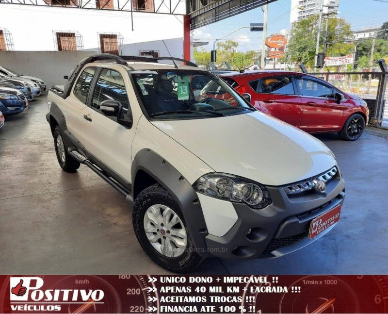 strada 1.8 mpi adventure cd 16v flex 2p manual 2013 caxias do sul