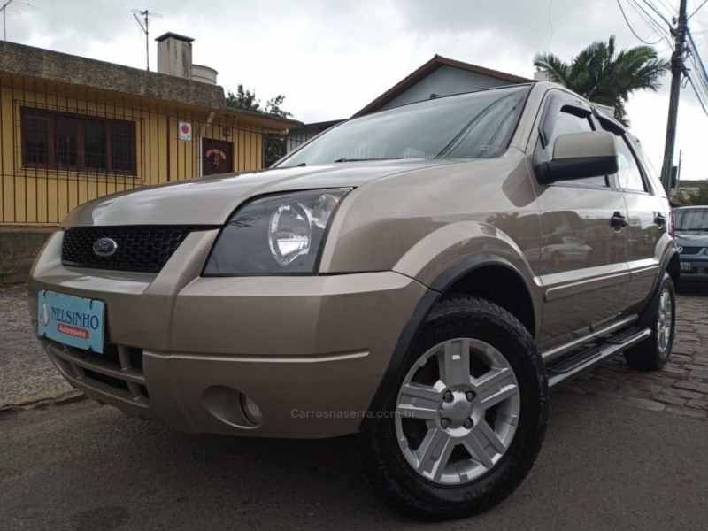 ecosport 1.6 xlt 8v flex 4p manual 2007 caxias do sul