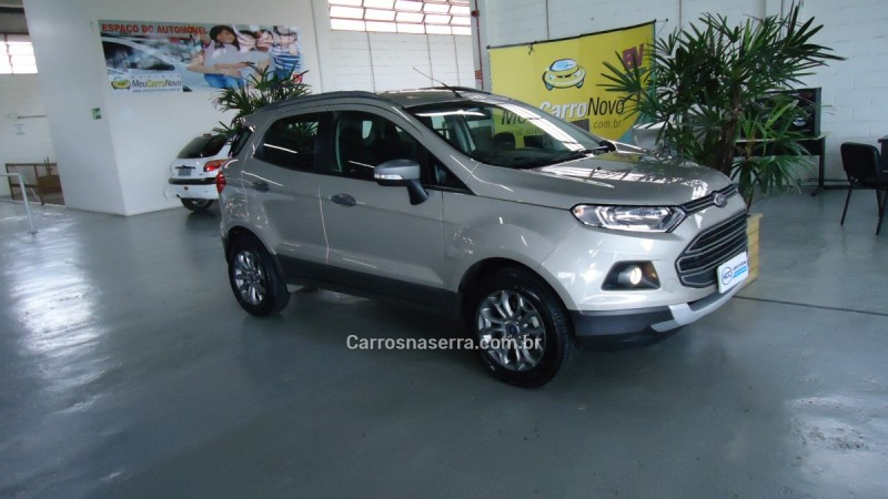 ecosport 1.6 freestyle plus 16v flex 4p powershift 2014 caxias do sul