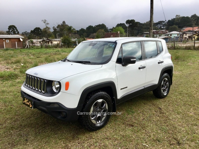 renegade 2.0 16v turbo diesel sport 4p 4x4 automatico 2016 canela