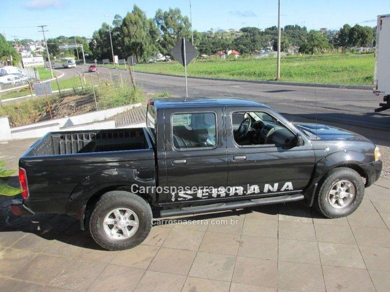frontier 2.8 se serrana 4x4 cd turbo eletronic diesel 4p manual 2007 bento goncalves
