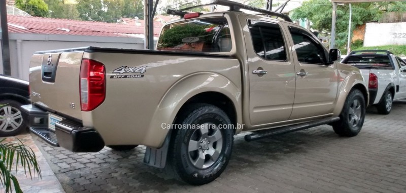frontier 2.5 le 4x4 cd turbo eletronic diesel 4p automatico 2010 caxias do sul
