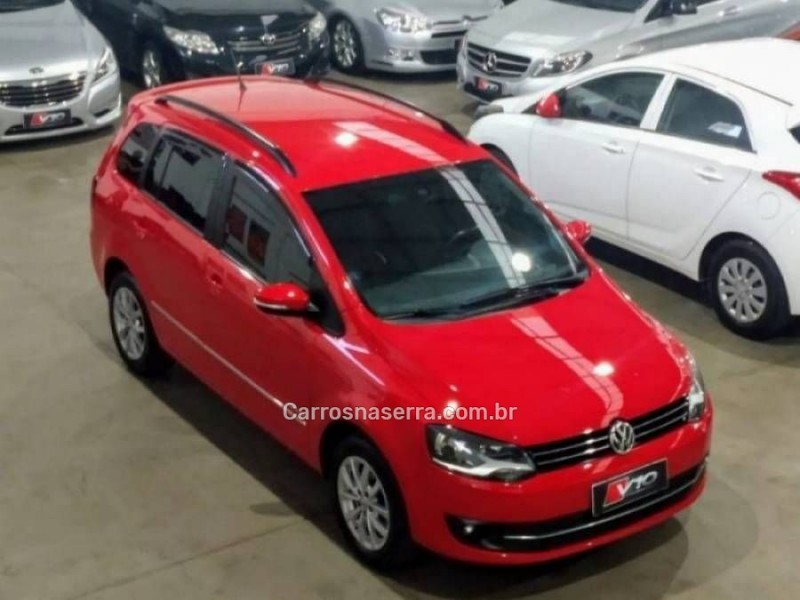 spacefox 1.6 mi highline 8v flex 4p automatizado 2014 caxias do sul
