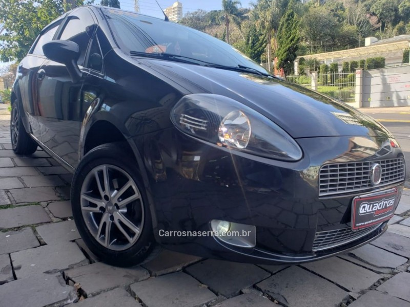 punto 1.4 attractive 8v flex 4p manual 2008 caxias do sul