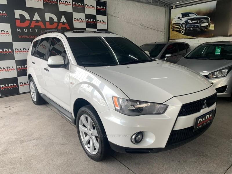 outlander 2.0 16v gasolina 4p automatico 2012 caxias do sul