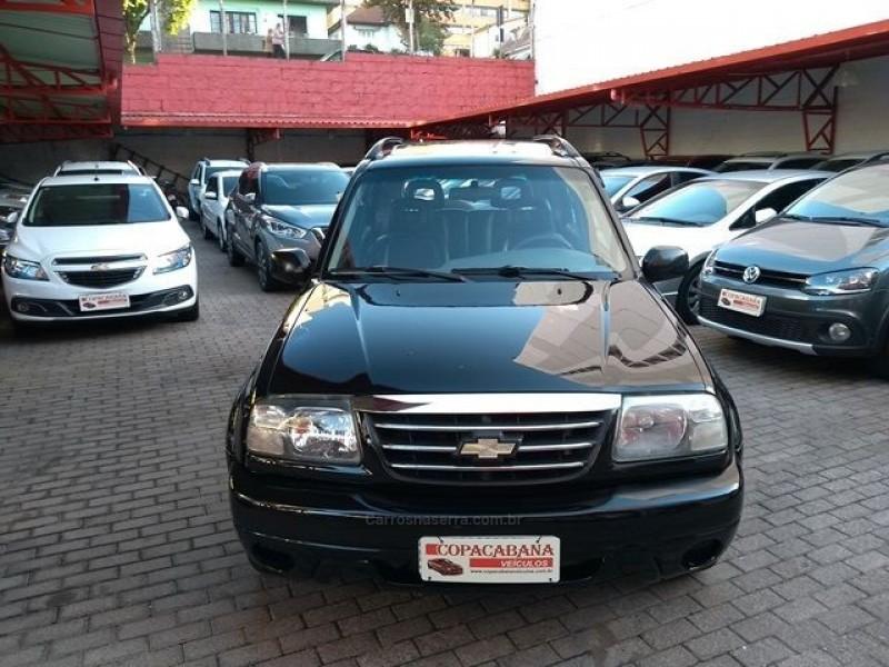 tracker 2.0 4x4 16v gasolina 4p manual 2008 caxias do sul
