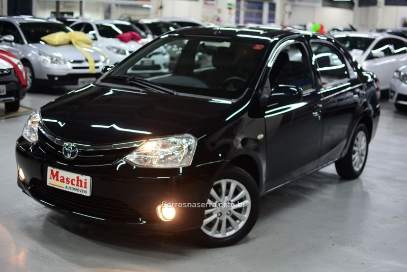 etios 1.5 xls sedan 16v flex 4p manual 2013 caxias do sul