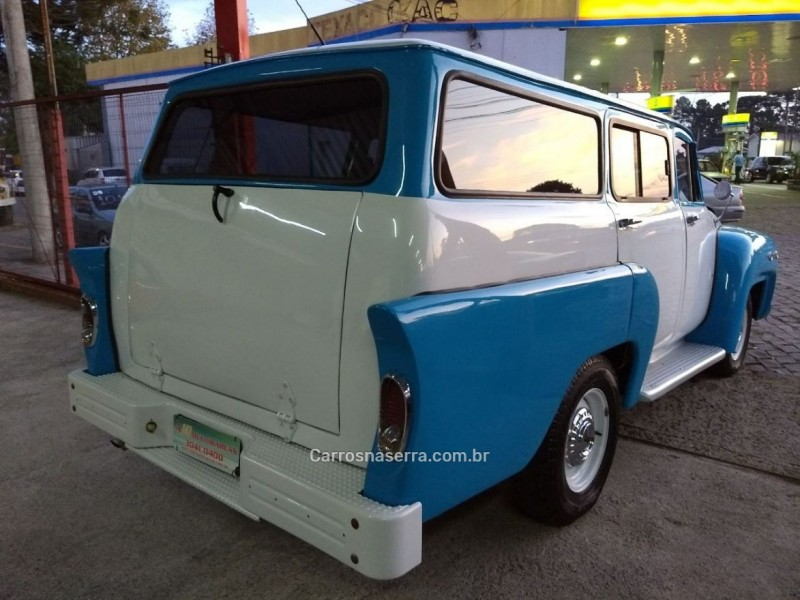 BRASIL 4.2 PICK-UP CS 2P GASOLINA MANUAL - 1960 - CAXIAS DO SUL