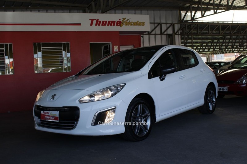 308 1.6 griffe thp 16v gasolina 4p automatico 2014 caxias do sul