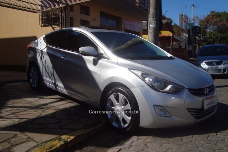 ELANTRA 1.8 GLS 16V GASOLINA 4P AUTOMÁTICO - 2012 - CAXIAS DO SUL