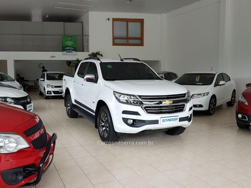 s10 2.8 ltz 4x4 cd turbo diesel 4p automatico 2018 nova petropolis
