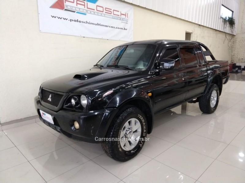 l200 2.5 sport hpe 4x4 cd 8v turbo intercooler diesel 4p automatico 2004 vacaria