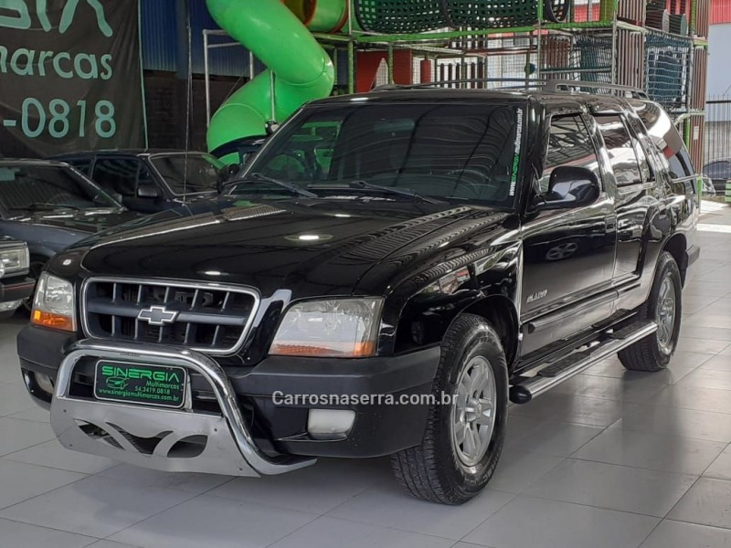 blazer 2.4 mpfi 4x2 8v gasolina 4p manual 2001 caxias do sul